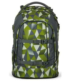 Рюкзак ERGOBAG Satch Pack GREEN CRUSH