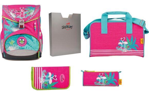 школьный ранец DerDieDas ErgoFlex 800 Flamingo 405046-1