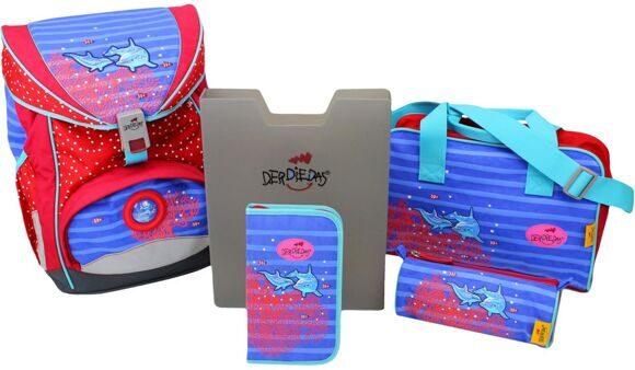 школьный ранец DERDIEDAS ельфины Dolphin 405-033-1