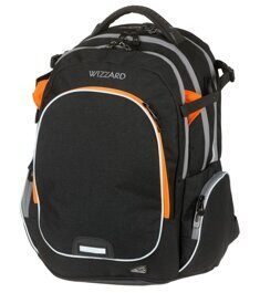 Рюкзак WALKER WIZZARD Campus Black Melange