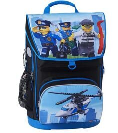 Рюкзак LEGO Maxi School Bag CITY POLICE CHOPPER