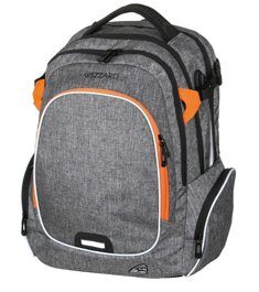 Рюкзак WALKER WIZZARD Campus Grey Melange