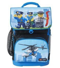 Рюкзак LEGO Optimo School Bag CITY POLICE CHOPPER