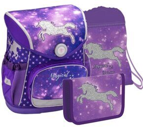 Ранец BELMIL Compact MAGICAL UNICORN с наполнением