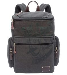 Рюкзак GRIZZLY Canvas Black Ru-702-1/2